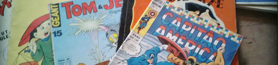photo de magazines anciens pour enfants