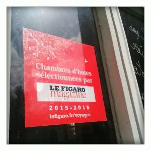 guide 20165-2016 du Figaro magazine, les 200 plus belles chambres d'hôtes en France